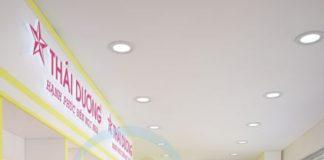 thiết kế nhà thuốc tây Sao Thái Dương