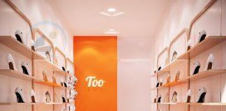 Thiết kế shop giày dép 10m2